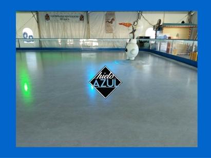 hielo azul